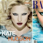 Kate Hudson W September vs Nadja Auermann Harper s Bazaar September 1994