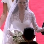 Kate Middleton wedding tulle veil McQueen