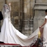 Kate Middleton white wedding dress Sarah Burton for Alexander McQueen