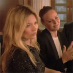 Kate Moss Films Ab Fab With Stella McCartney, David Gandy For Sport Relief 2012