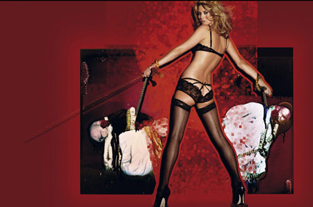 Kate Moss Takes The Wedding Dark Side For Agent Provocateur