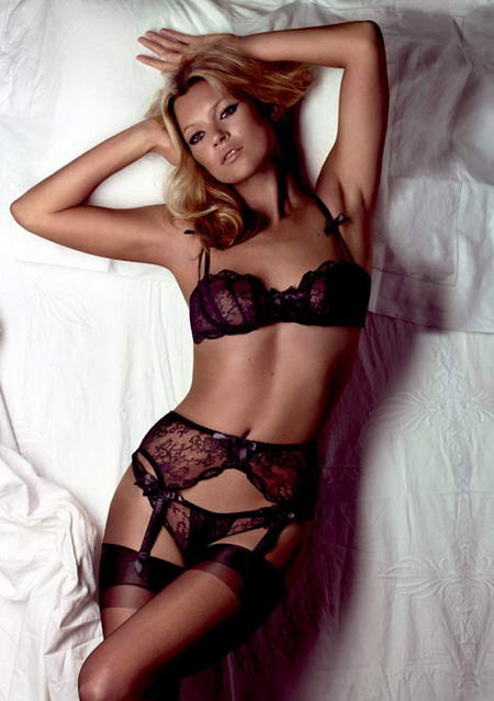 Kate Moss for Agent Provocateur Bridal