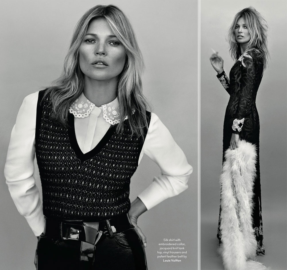 Kate Moss Another AW14 Alasdair Mclellan