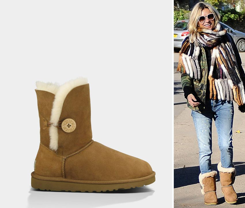 Kate Moss boots suede fur UGGs