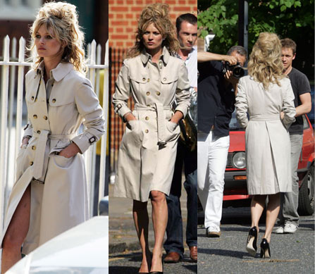 Kate Moss Burberry Trench For Vogue