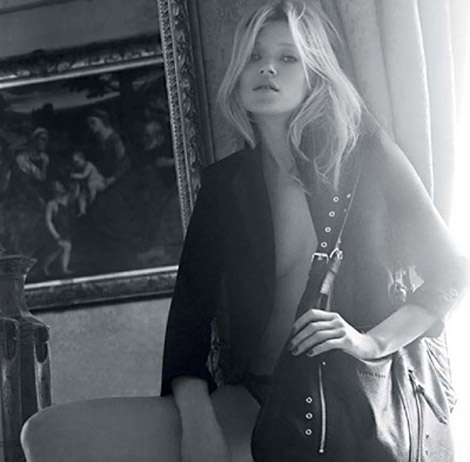 Kate Moss for Longchamp bags collection 2010