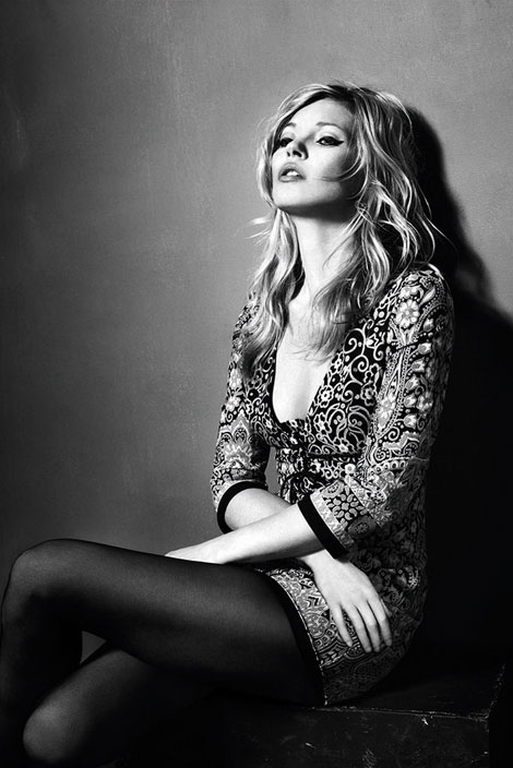 Kate Moss for Topshop fall winter 2010 collection