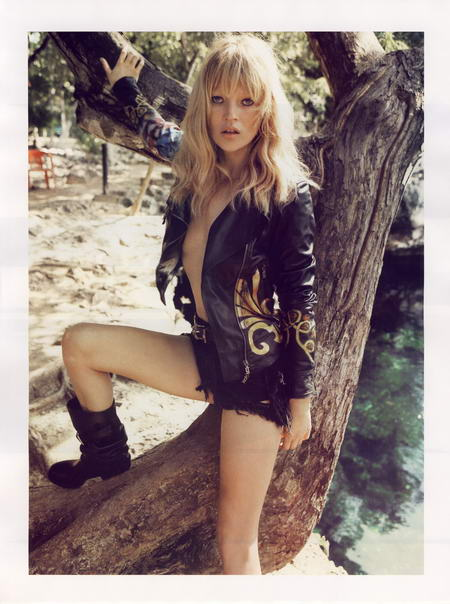 Kate Moss Photos for French Vogue Magazine April Issue
