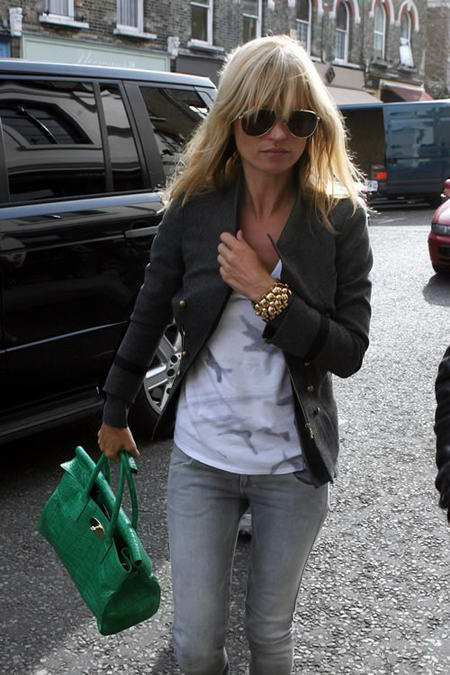 Kate Moss Green Bag