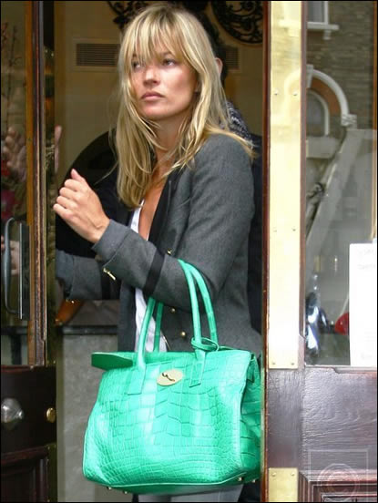 Kate Moss Green Mulberry Bag