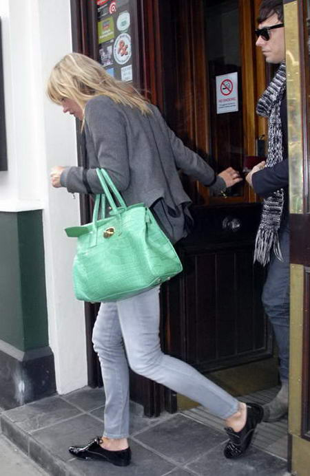 Kate Moss Mulberry Green Bag