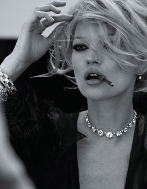 Kate Moss Harpers Bazaar March 2010