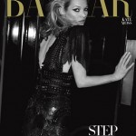 Kate Moss Harpers Bazaar US March 2010 cover