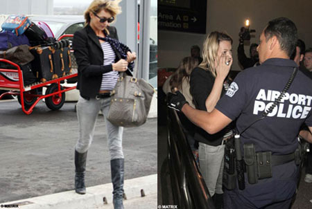 Kate Moss Heathrow Luggage Incident