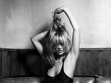 Kate Moss by Hedi Slimane for Liberation Picture