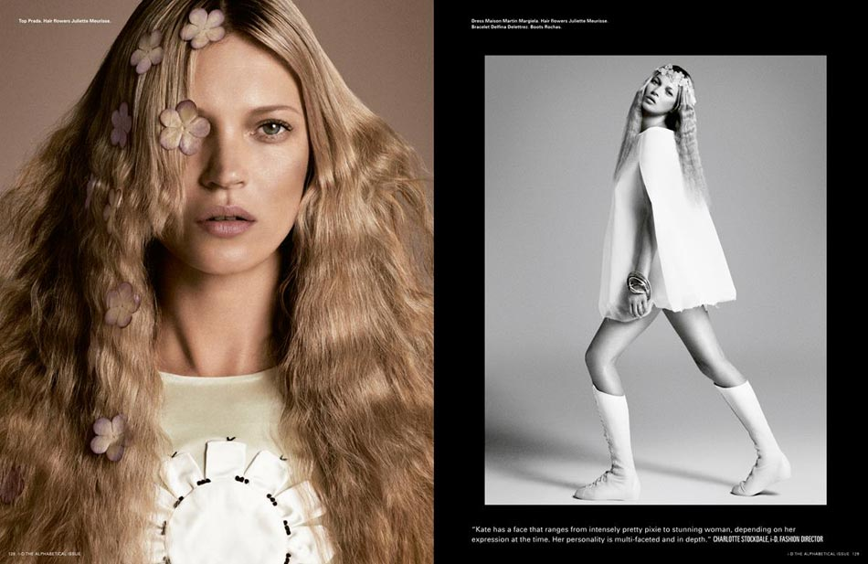 i-D Kate Moss, Karmen Pedaru And More, The Alphabetical Issue