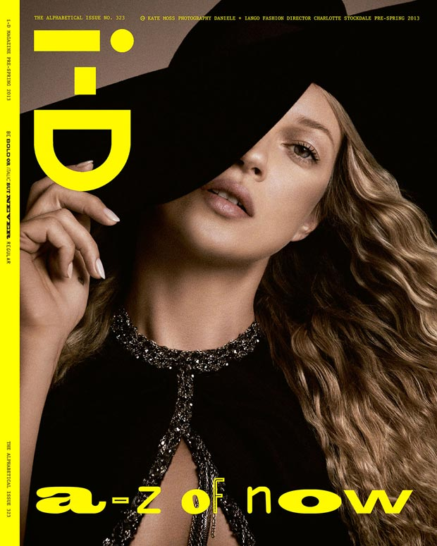 Kate Moss i D Pre Spring 2013 YSL cover