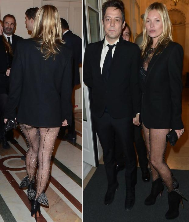Kate Moss Jamie Hince at Carine Roitfeld s Paris Ball
