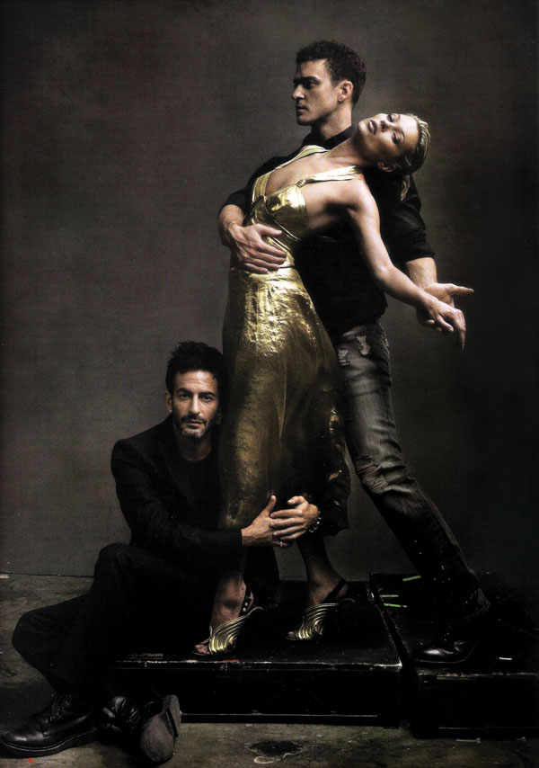 Kate Moss ft JT, MJ By Annie Leibovitz In Vogue US May 2009