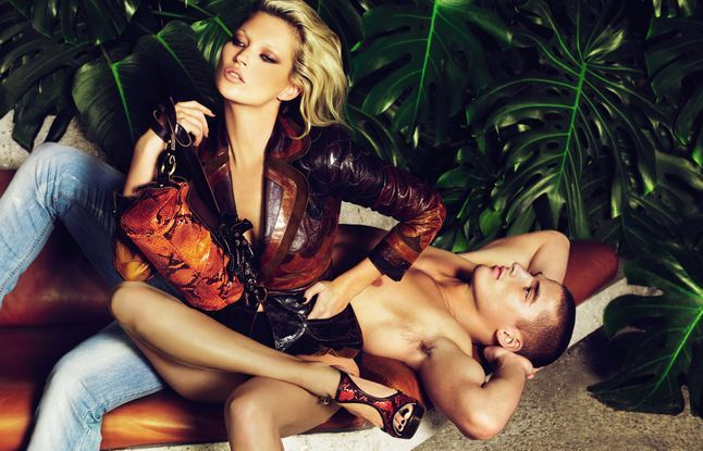 Kate Moss Just Cavalli SS09 ad campaign 6