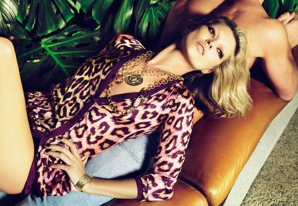Kate Moss Just Cavalli Spring Summer 2009 Ad Campaign ...