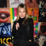 Kate Moss launched her nail polish collection with Rimmel