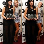 Kate Moss Lily Allen GQ Awards 2009
