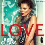 Kate Moss Love cleans up