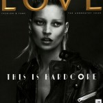 Kate Moss Love Issue 5 cover