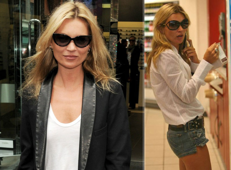 Kate Moss loves Tom Ford sunglasses