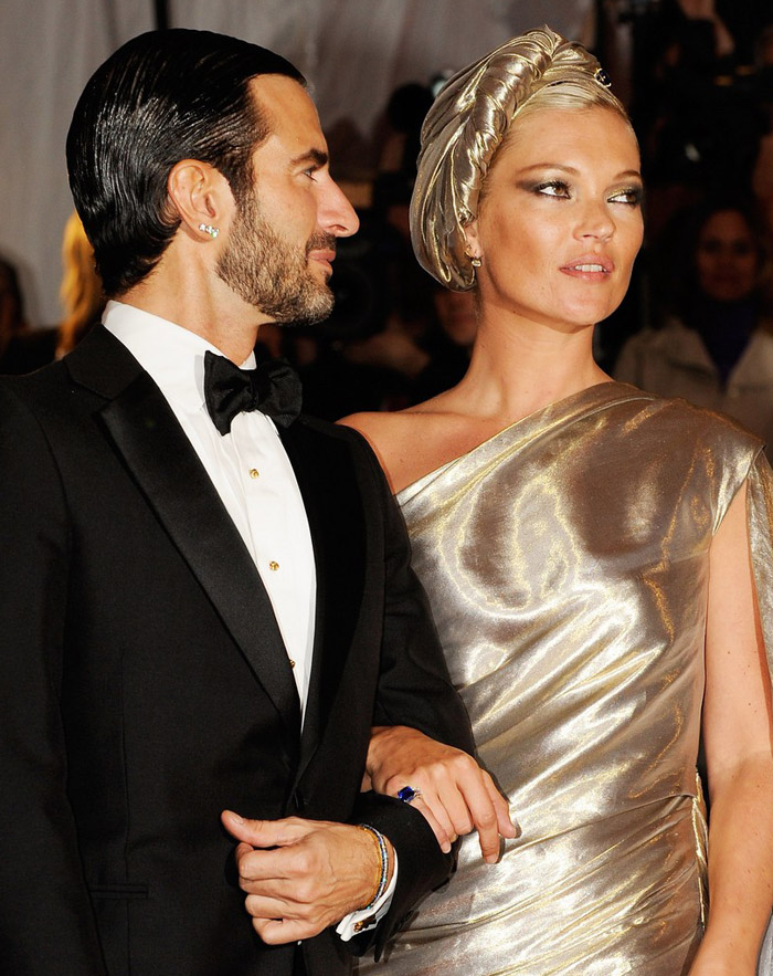 kate moss marc jacobs met institute gala 09
