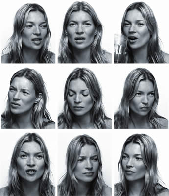 Kate Moss National Portrait Gallery Photo