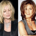 Kate Moss new haircut The Rachel
