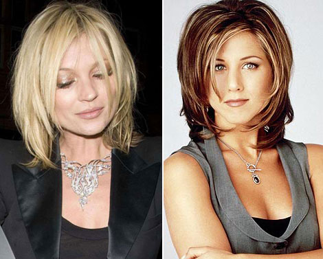 Kate Moss New Haircut: The Rachel!