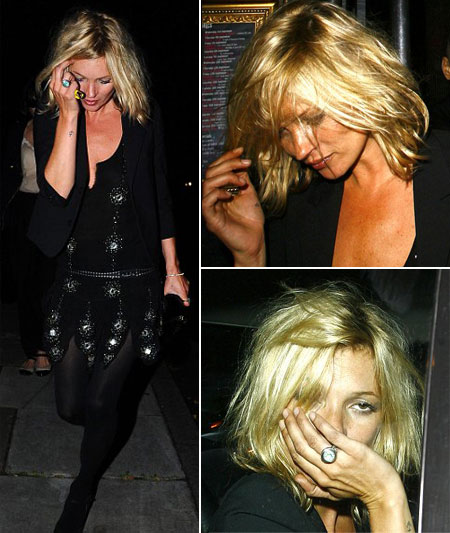 What do you say about Kate Moss new short bob (and please ignore her usual