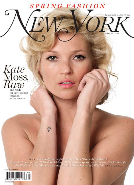 Kate Moss Does New York Magazine The Spring Fashion Issue