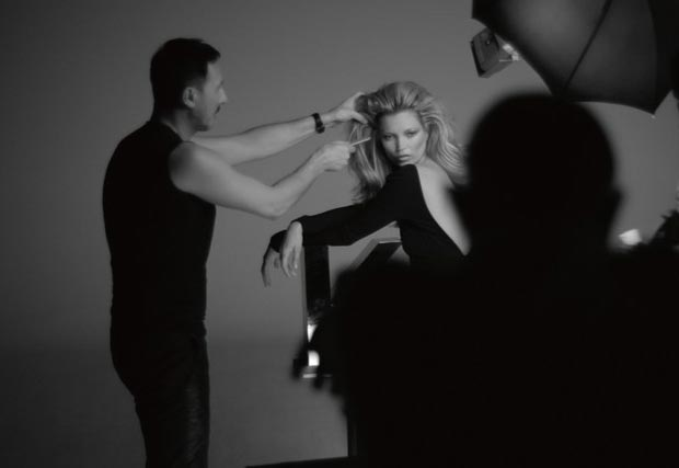Kate Moss photographed for L oreal Kerastase