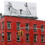 Kate Moss poster sans clothes Stuart Weitzman campaign