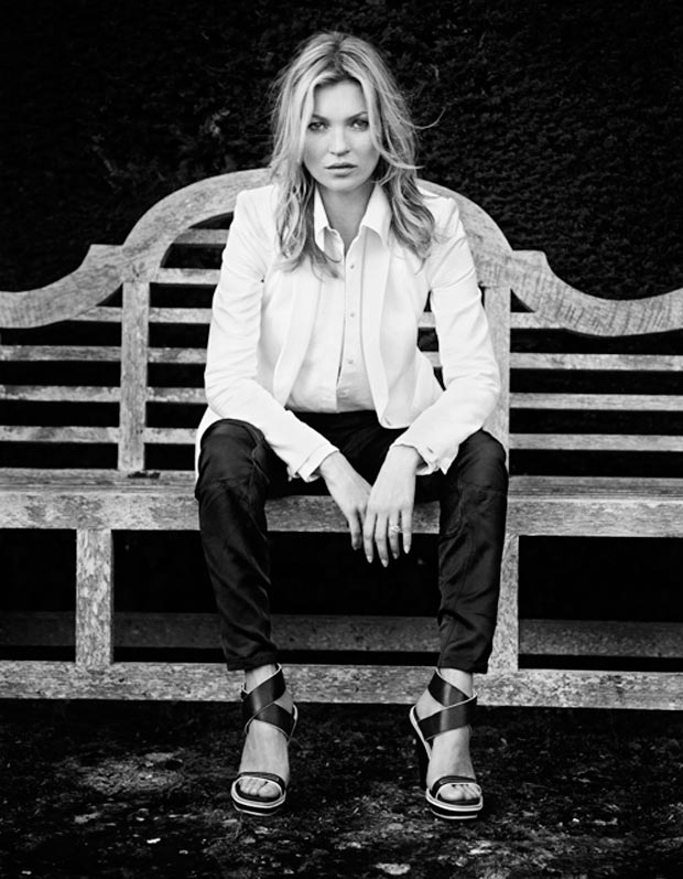 Kate Moss Rag and Bone Spring 2013 campaign