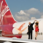 Kate Moss Richard Branson Virgin Anniversary 1