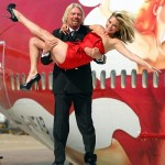 Kate Moss Richard Branson Virgin Anniversary 2