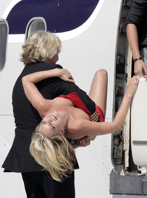 Kate Moss Richard Branson Virgin Anniversary