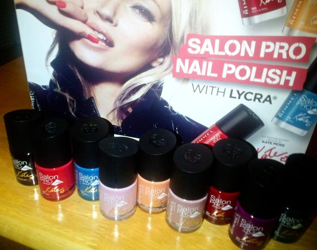 Kate Moss Rimmel London Salon Pro nail polish