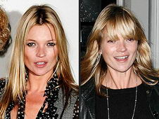 Kate Moss Straight Hair Bangs