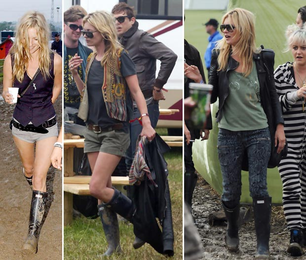 How To Get Kate Moss Perfect Festival Look In 5 Easy Steps!