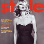 Kate Moss Times Style Magazine October 2008 Cover