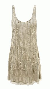 Kate Moss Beaded Flapper Dress Topshop