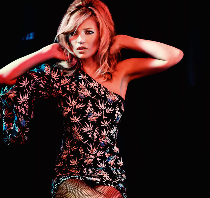 Kate Moss Topshop Christmas 2009 collection 2
