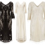 Kate Moss Topshop collection 2014 embroidered dresses