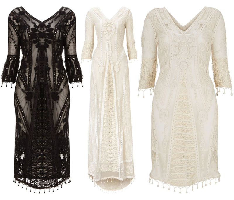 Kate Moss Topshop Collection 2014 Embroidered Dresses Stylefrizz